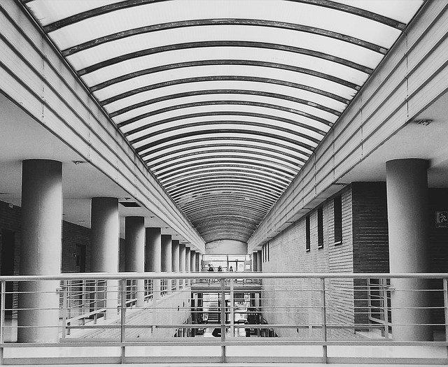 Fotografía sobre la zona universitaria de Teatinos